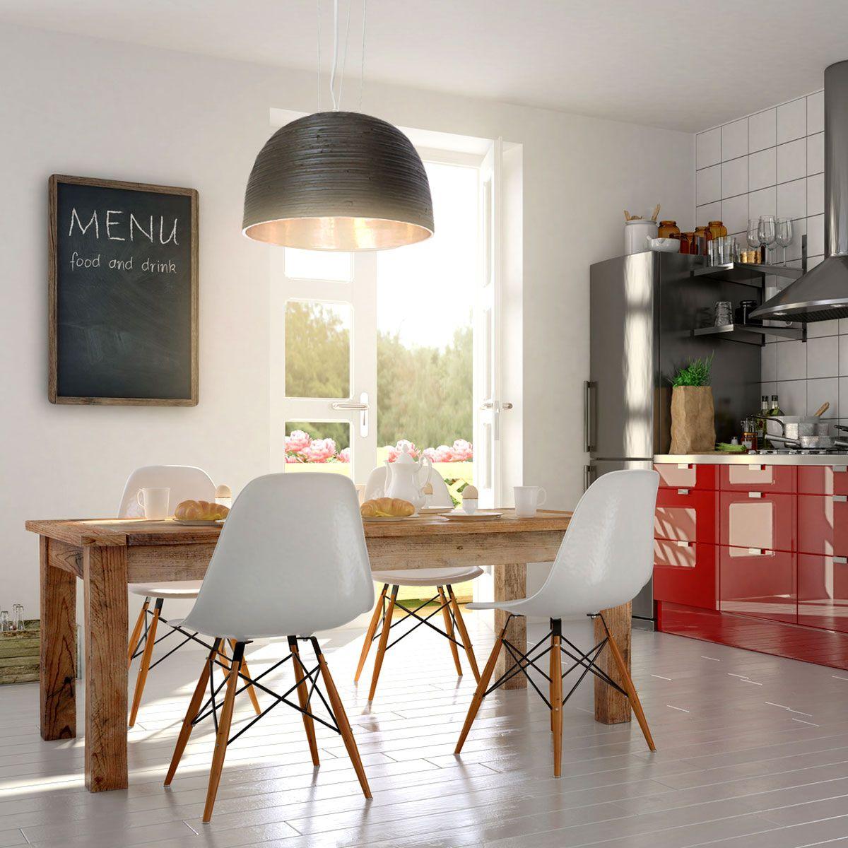 Toll für die #Küche über dem Esstisch: #Hängelampe \