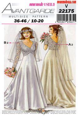 SewingPatterns.com  Bridal dress patterns, Wedding dress patterns