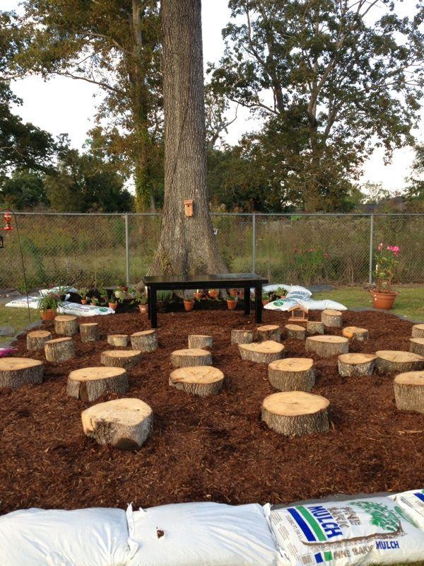 Outdoor Classroom Design Ideas ~ Outdoor classroom seating prairieville primary builds