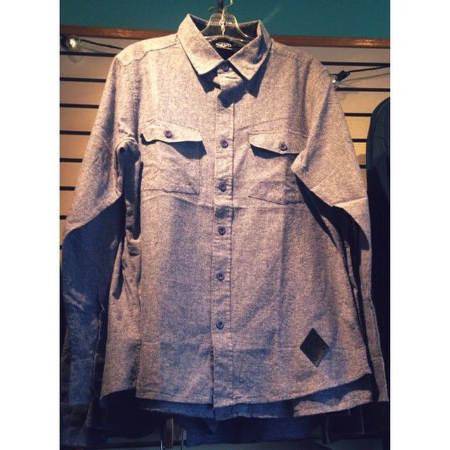 Dress this shirt down or up and you will still look badass. Comes in this heather blue and also a heather gray! Amazingly soft! #ogfamily #ogsurfandskate #og #oceangrove #supportsmallbusiness #supportyourlocalsurfshop #supportyourlocalskateshop #surf #skate #buttonup #winter #fall #bradleybeach #asburypark #avonbythesea #belmar #shoplocal #skatelocal #surflocal #belocal #yesweareusingthismanyhashtags
