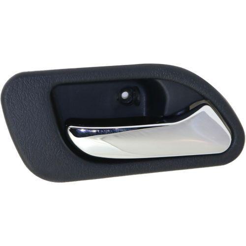 1999-2003 Acura TL Rear Door Handle RH,Inside,Chrome Lever/Gray Housing,Plastic