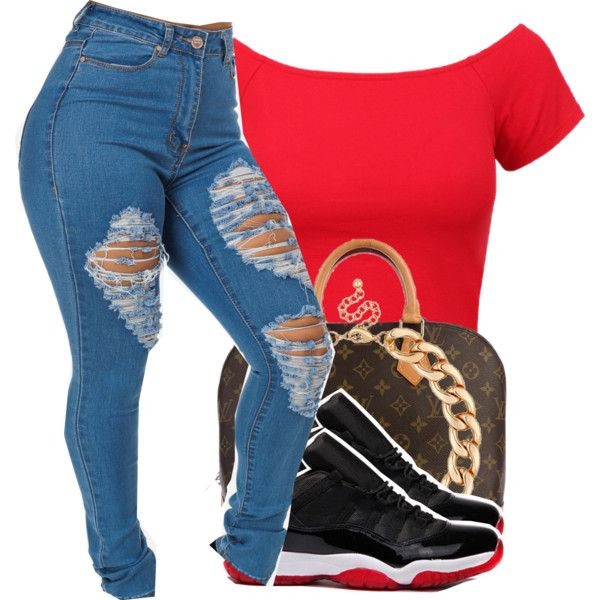 Air Jordan Low Bred 11u0026#39;s Outfit | Jordan Low Polyvore Fashion And Air Jordan