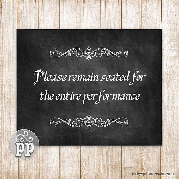 Please Remain Seated Bathroom Wall Decor Funny Quote Instant Download  Printable   Funny Bathroom Sign