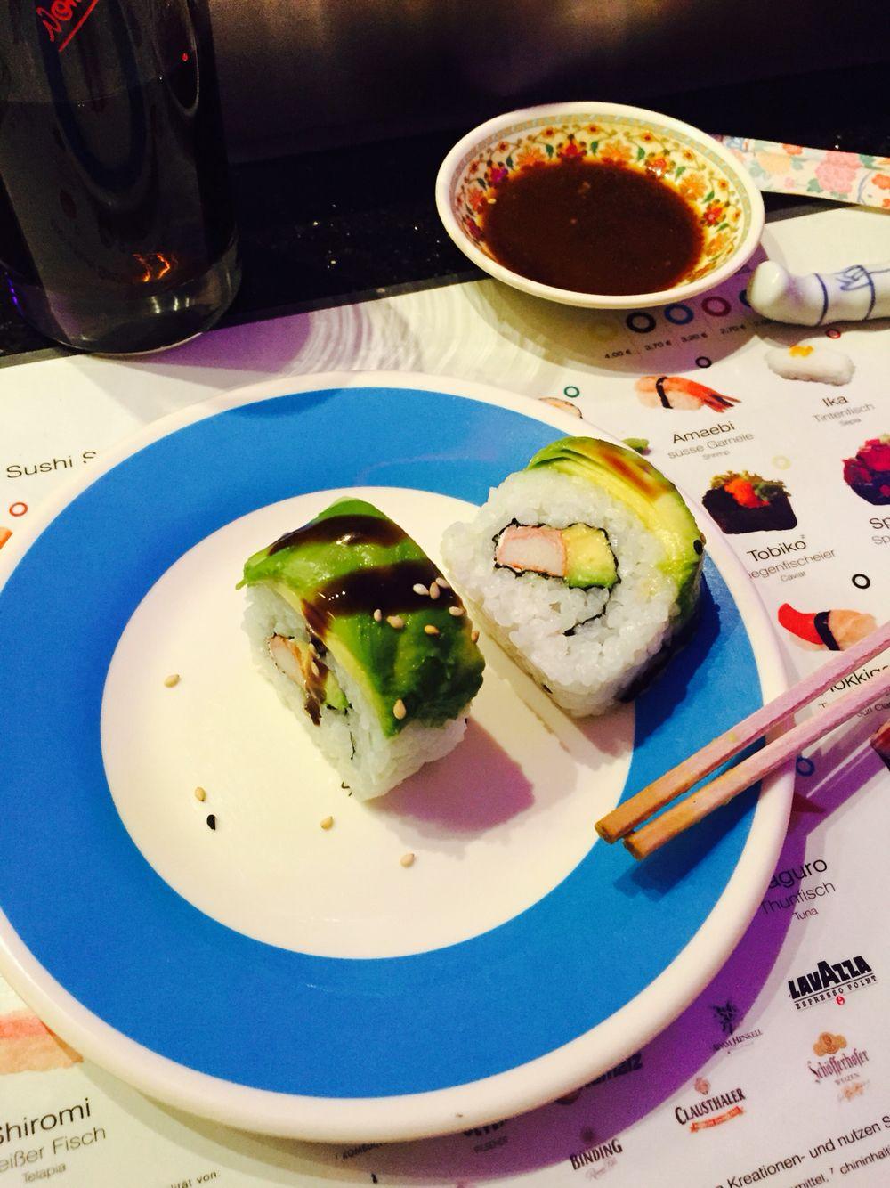 Sushi in frankfurt Food, Avocado egg, Avocado