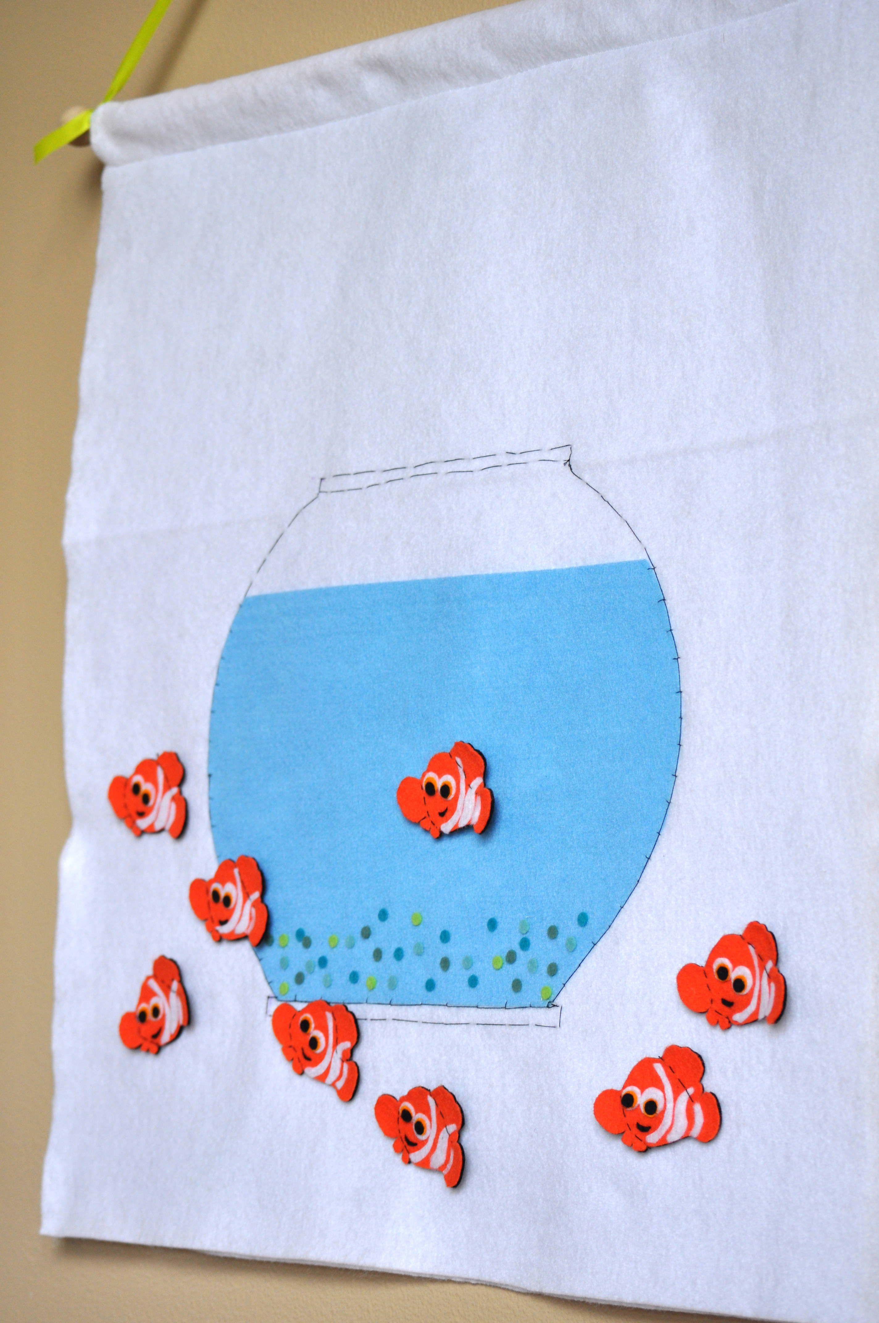 For Maureen Pin Nemo On The Fish Bowl