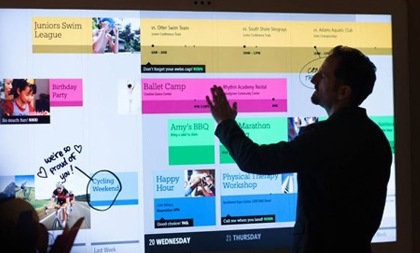 Ubi Interactive & Microsoft use Kinect to turn any surface into a touchscreen