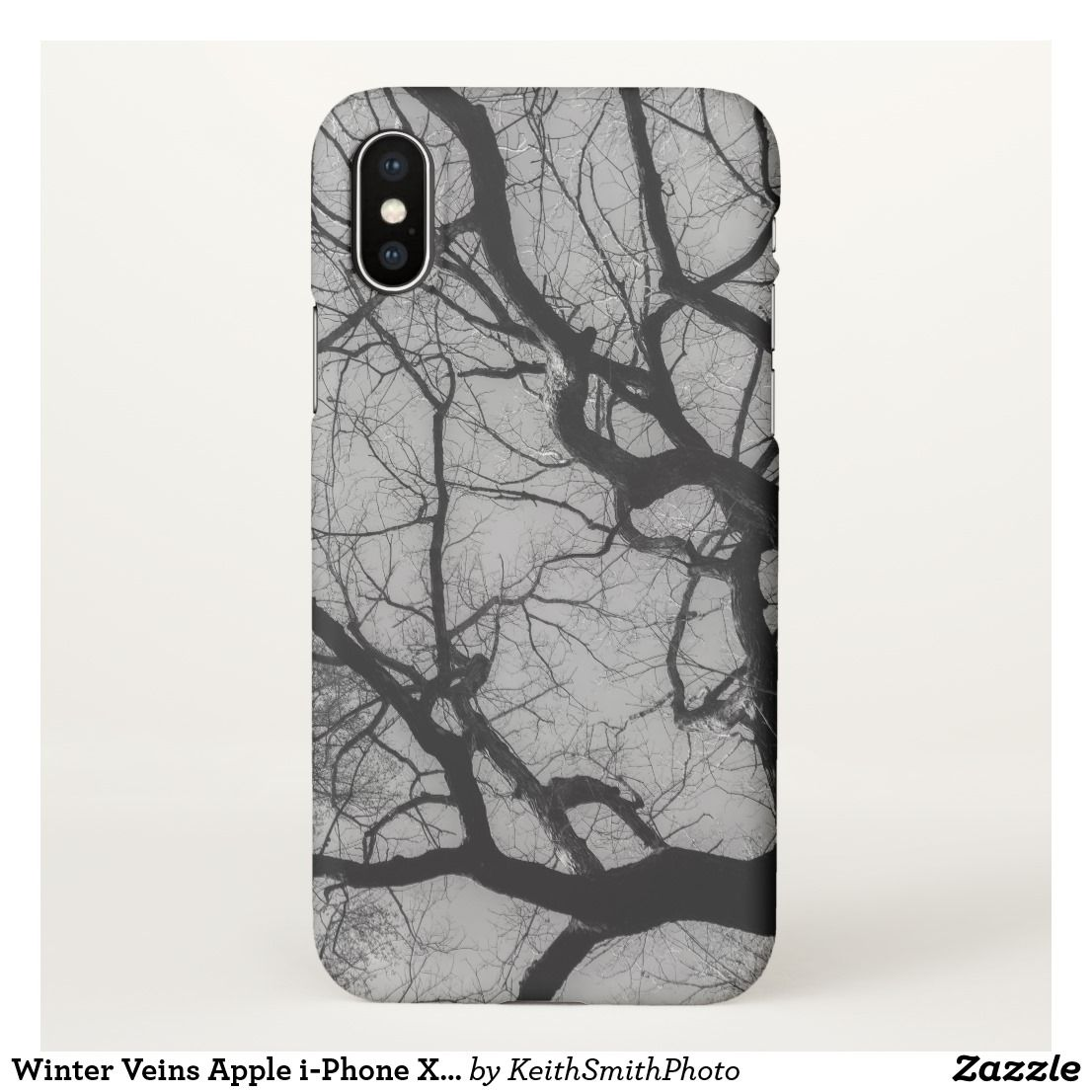 Winter Veins Apple iPhone X Case Apple my