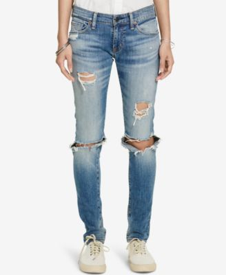59e4a1b5939 Denim & Supply Ralph Lauren Distressed Skinny Jeans | macys.com ...