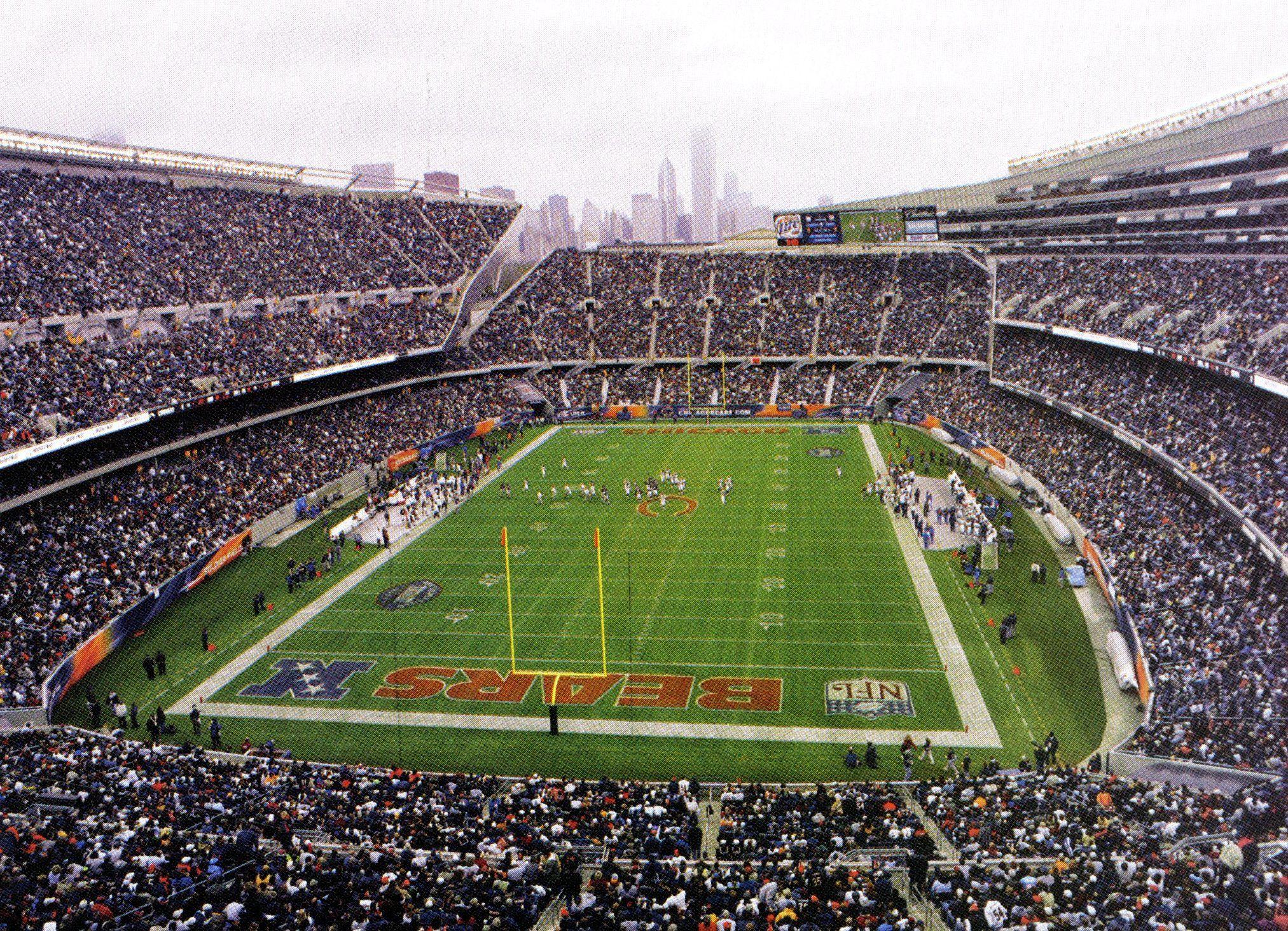 Soldier Field, Chicago, IL.