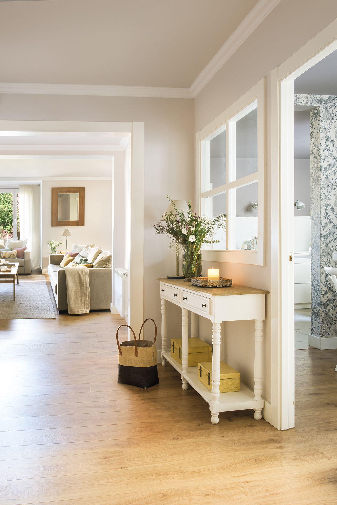 Repartiendo juego mirador del sur decoraci n de unas for Comedor de muebles de madera blanca