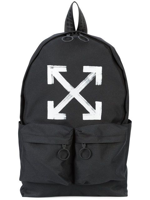 f7b68fdc7a00 OFF-WHITE Arrows Backpack.  off-white  bags  polyester  backpacks ...