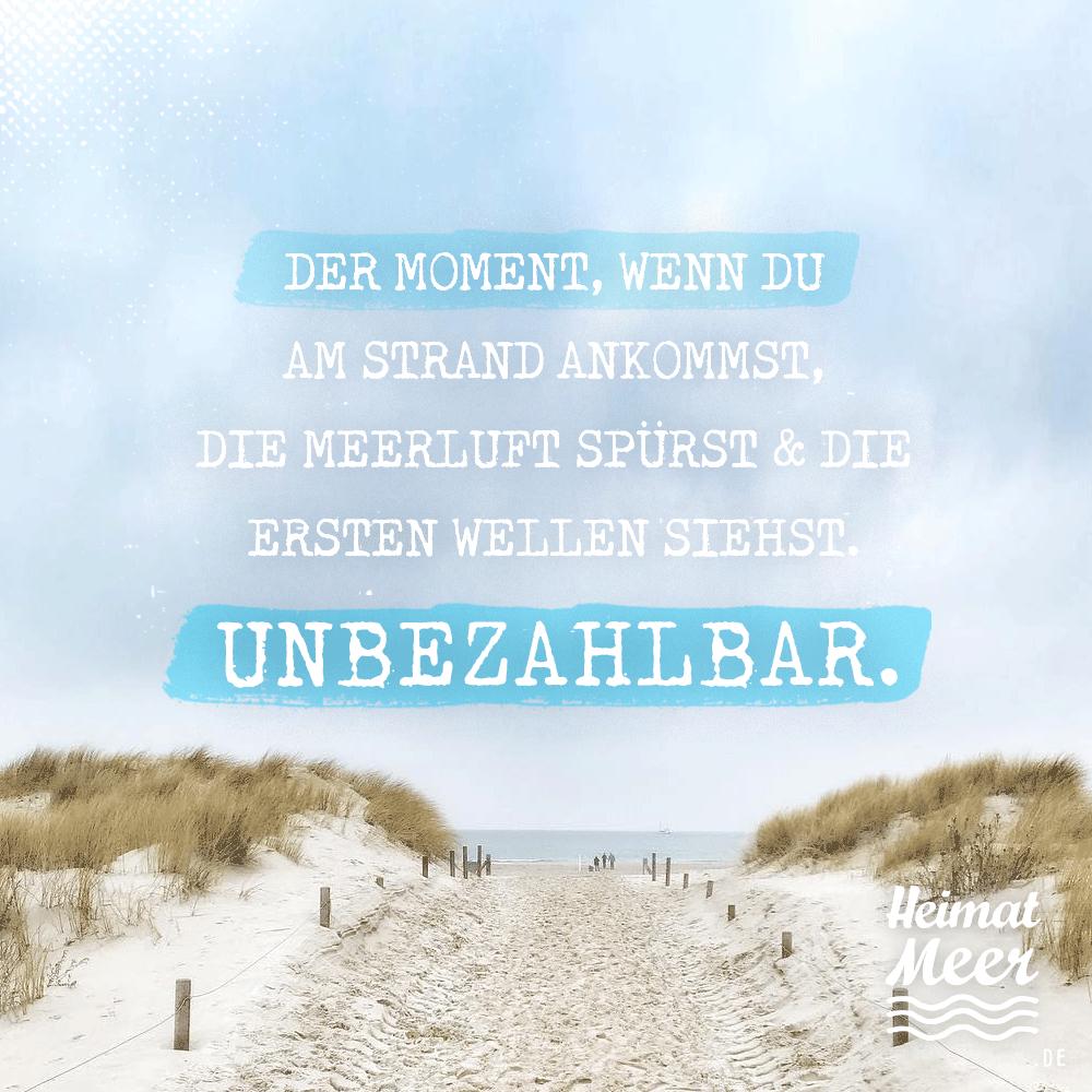 Der Moment, wenn du am Strand ankommst: UNBEZAHLBAR. Mee(h)r für Meerliebhaber>>