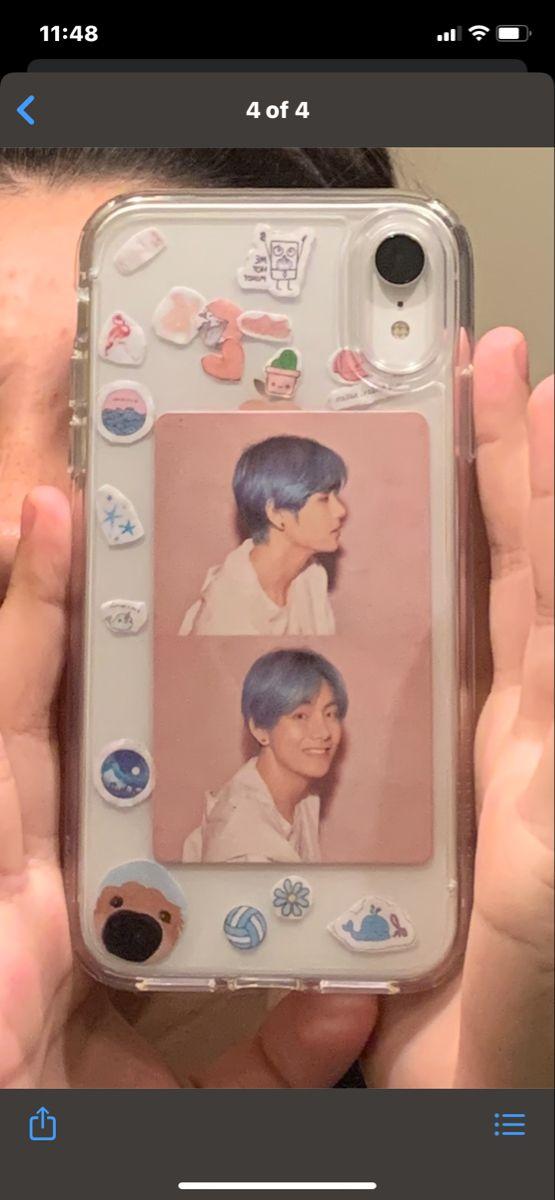 taehyung in 2020 | Kpop phone cases, Diy phone case ...