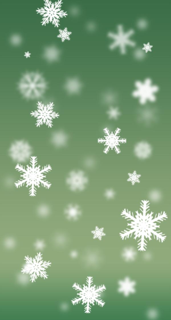 Snowflake Wallpaper Home