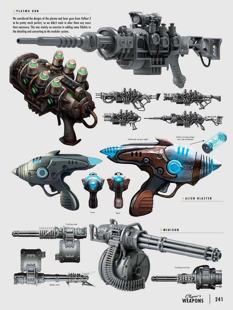 The Art Of Fallout 4 Fallout Concept Art Weapon Concept Art