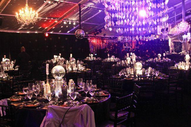 Studio 54 Tables Love The Disco Ball Centerpieces
