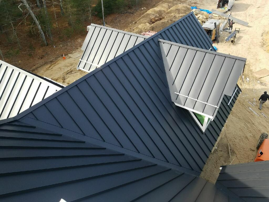 Standing Seam Classic Metal Roofs Llc Stow Ma Standing Seam Exterior House Colors Metal Roof