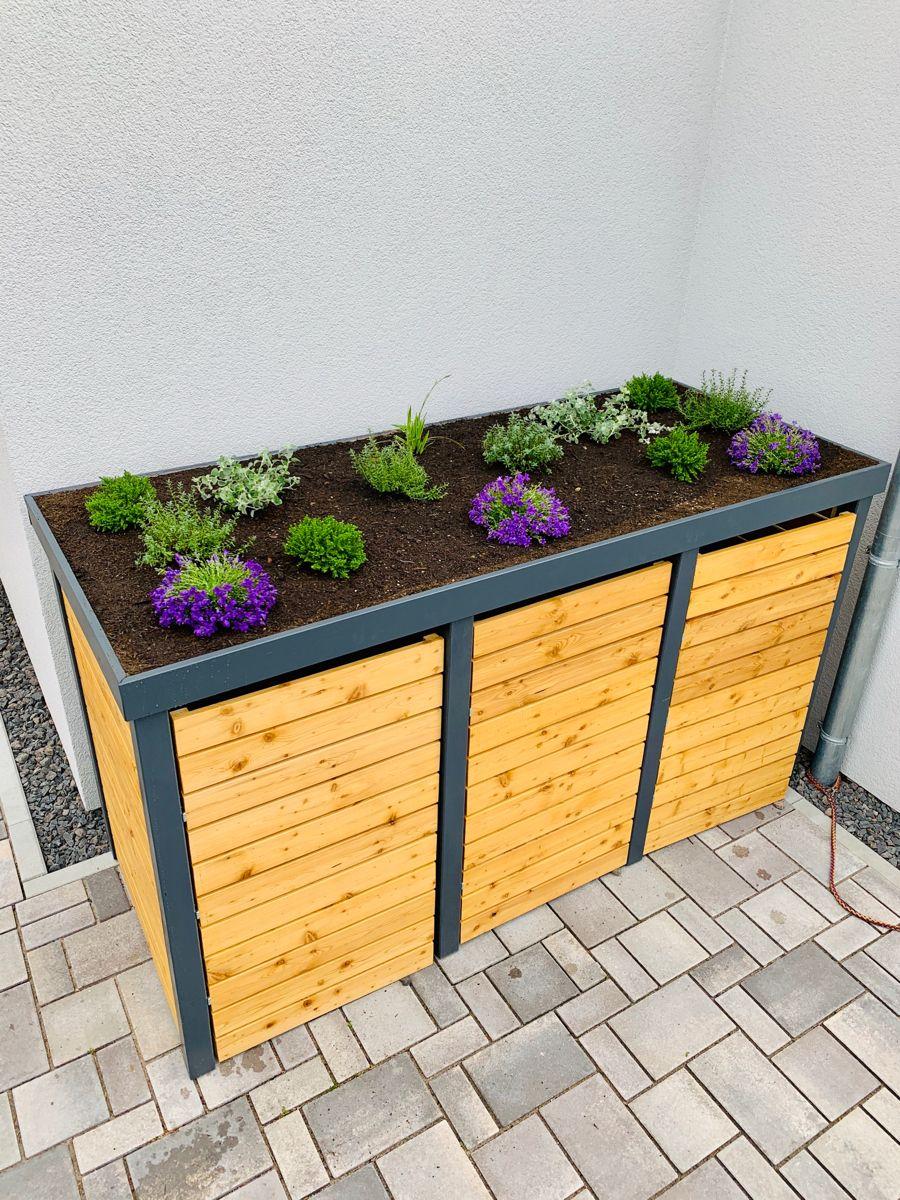 DIY Mülltonnenbox selber bauen