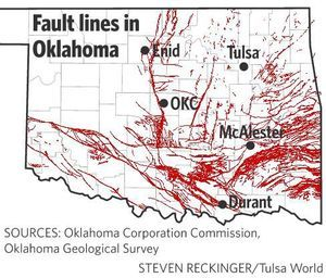 Oklahoma reports surge in earthquakes during 2015