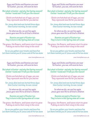 Raising Memories True Meaning Of Easter Poem Easter Symbols