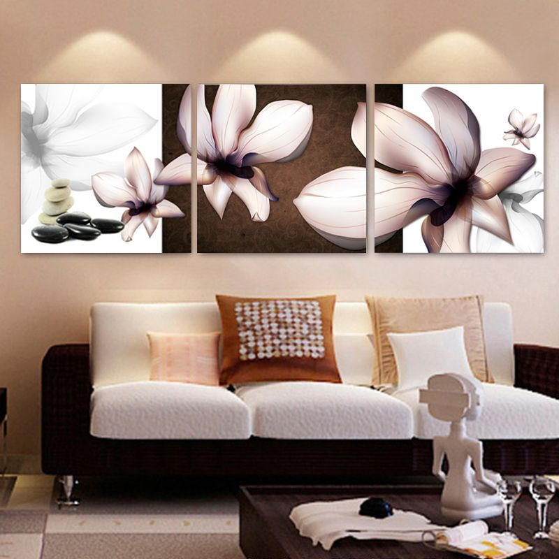 Kein Rahmen 3 Stücke Hause Dekorative Gemälde Auf Leinwand Abstrakte Wohnzimmer  Leinwand Malerei Modulare Dekoration Bilder FY14