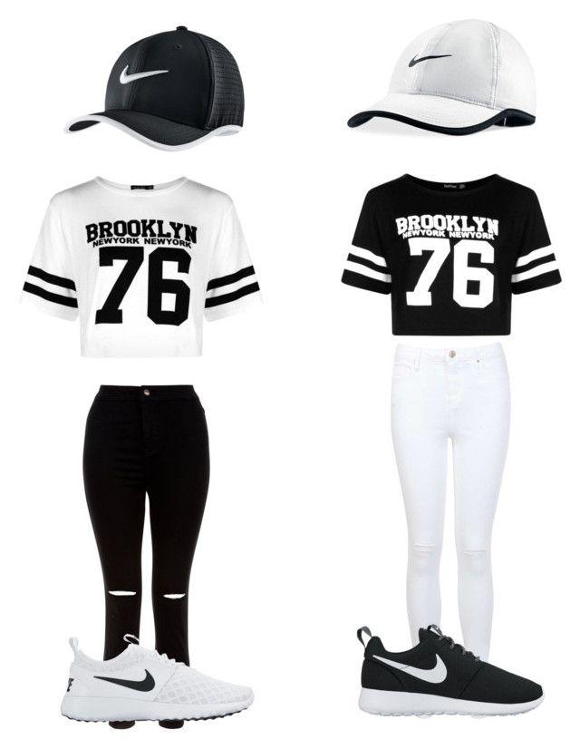 03fff69020a Sport t-shirt, nike schoenen, zwarte broek/ witte broek, pet ...