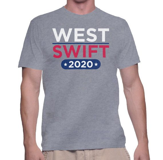 West West 2020 Campaign 2020 Presidential Campaign T Shirt Etsy Shirts T Shirt 2020 Campaign