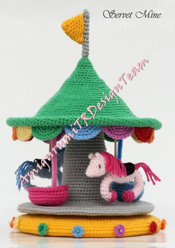 amigurumi carousel pattern harriets favourites geh kelte spielsachen h kelspielzeug und. Black Bedroom Furniture Sets. Home Design Ideas