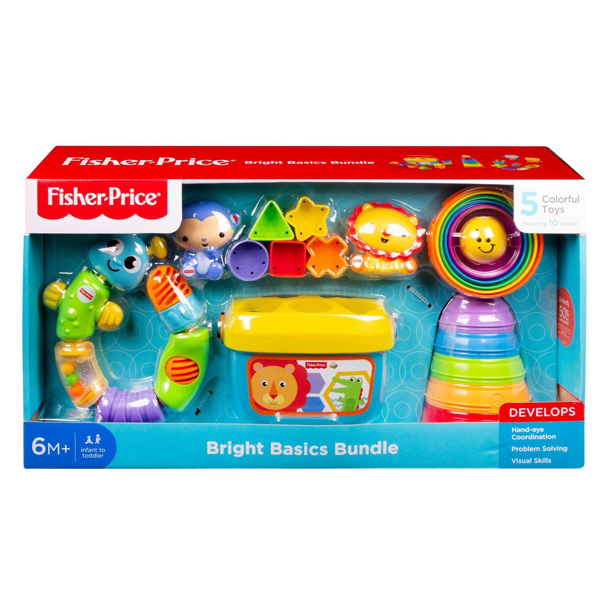 Fisher Price Bright Basics Bundle 5 Classic Toys Set 5 00 80 Off Classic Toys Fisher Price Toy Sets