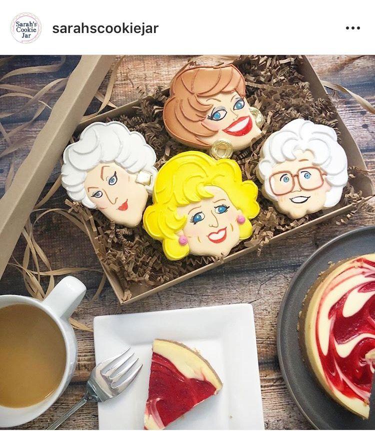 The Golden Girls cookies Dessert illustration, Fun