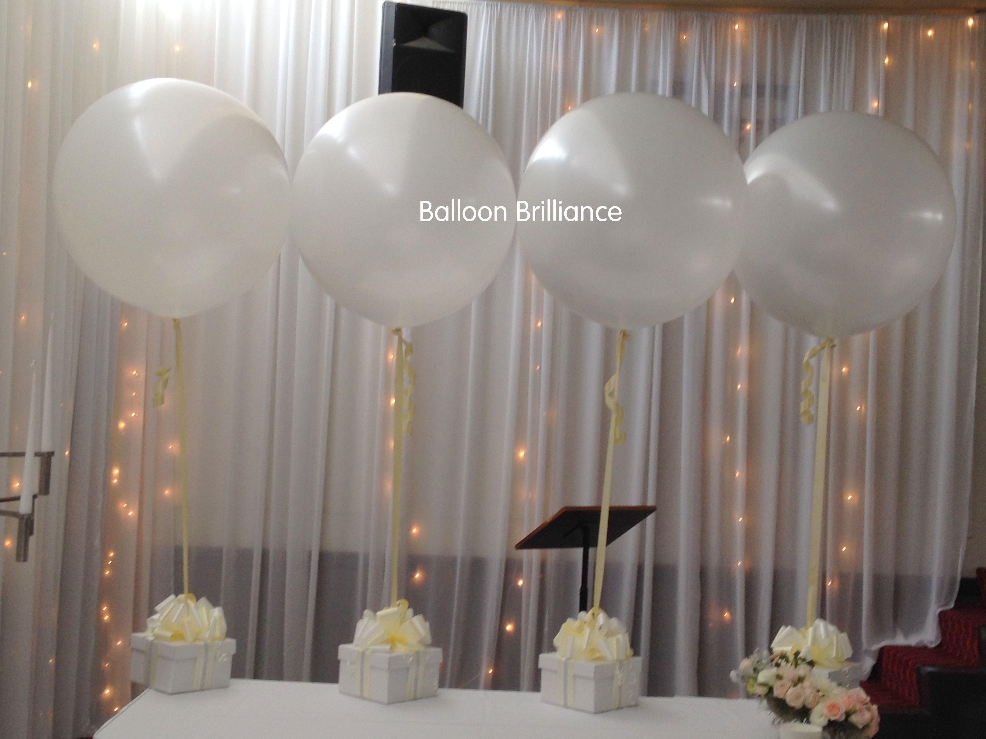 3foot jumbo balloons gifttable lollybuffet bows