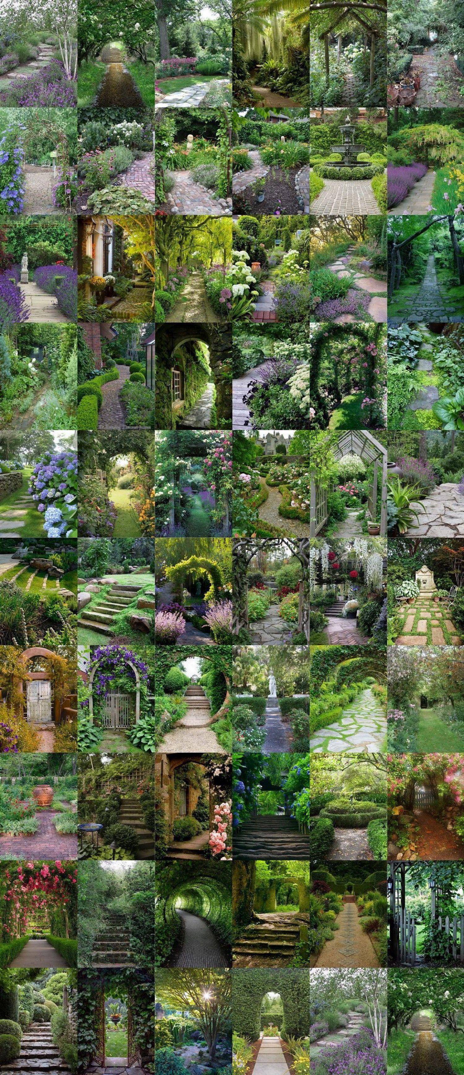 61 MagicalSecret Garden Paths Garden paths, Amazing