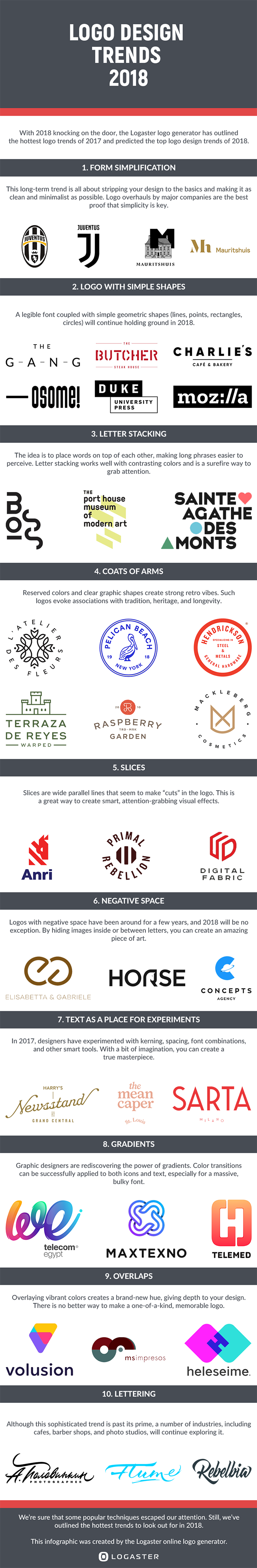 10 Logo Design Trends to Watch for in 2018 [Infographic] | AAA ...