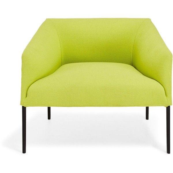 Arper Lime Saari Lounge Chair 163 1 505 Liked On Polyvore