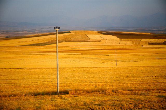 Paisagem agrícola da Anatólia Central - Joaquim Nery