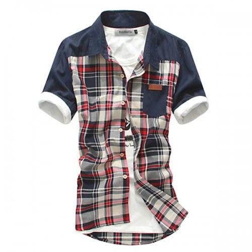 Chemise Homme Vintage Fashion A Carreaux Urban Outfit Men Rouge Hommes Vintage Mode Homme Bcbg Chemise Tartan