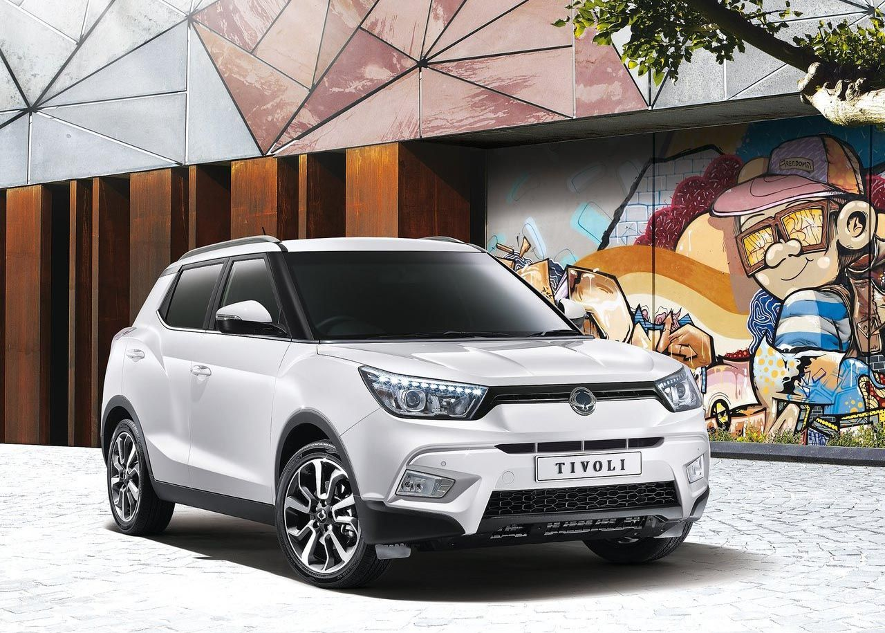 The ssangyong tivoli ssangyong s new compact suv will cost from in the uk rising to as it tries to take on the nissan juke