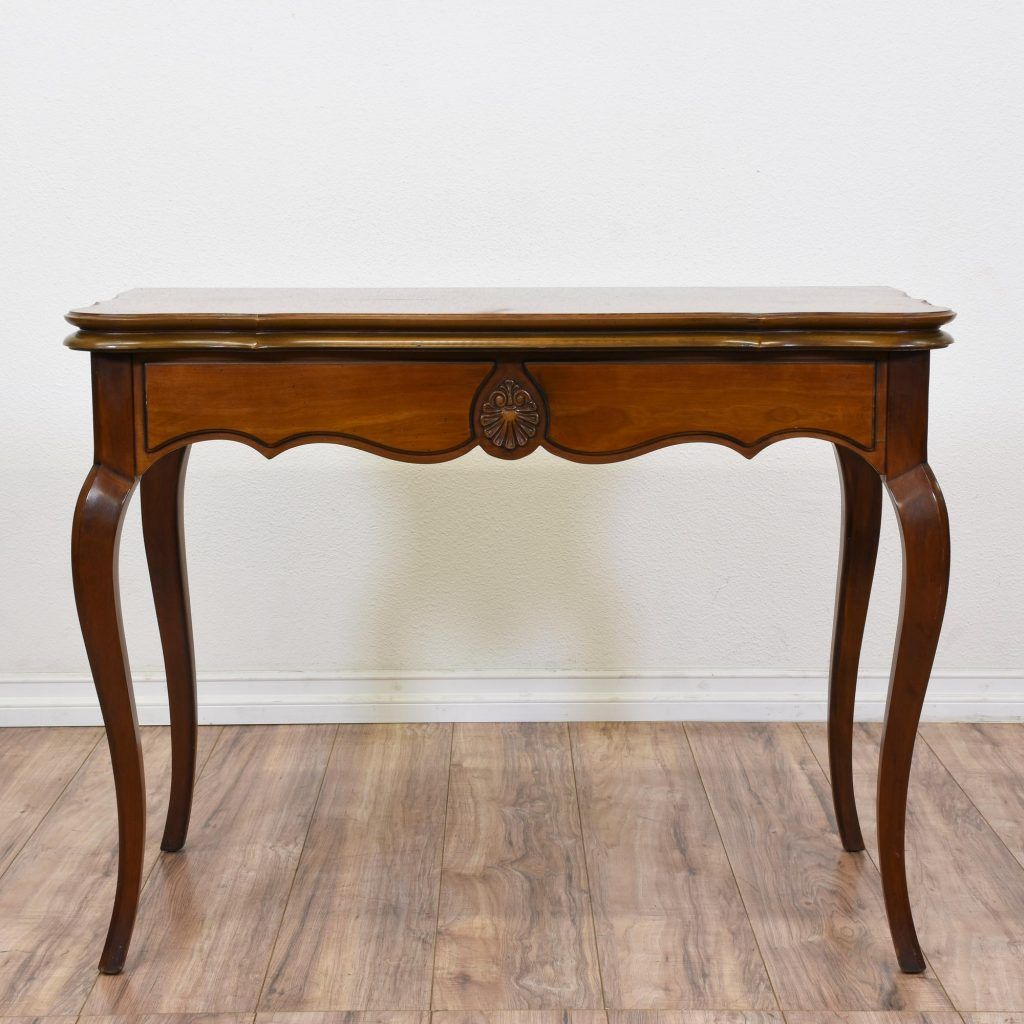 Queen Anne Sofa Table Cherry Sofa Table Table Vintage Furniture