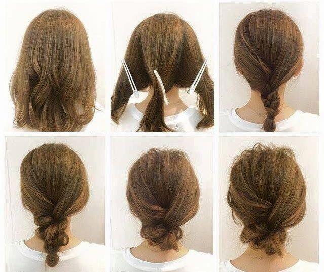 einfache frisuren für schulterlange haare - hairstyle - #