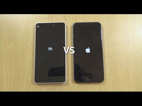 Xiaomi Mi 4i VS IPhone 6 - Speed & Camera Test! - YouTube