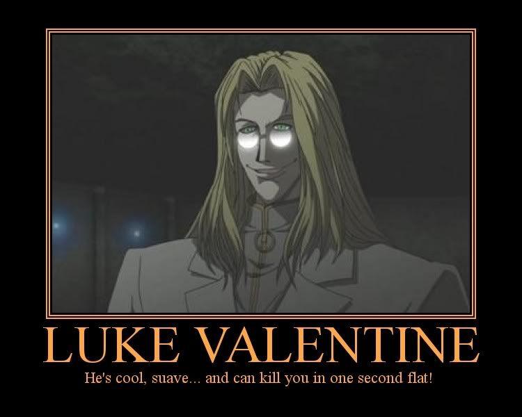 Luke Valentine From Hellsing Ultimate Hellsing Anime Stars