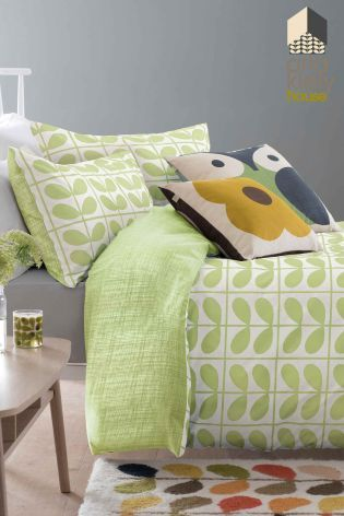 Orla Kiely Avocado Grid Stem Duvet Cover From The Next Uk Online