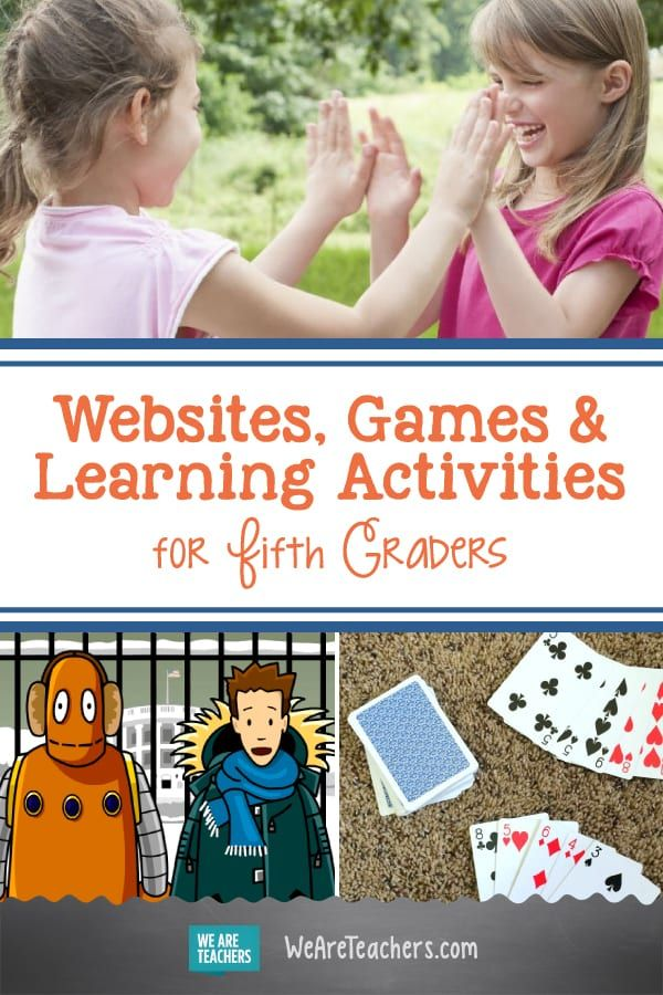 Photo of Incredible Websites, Games, and Learning Activities for Fifth Graders