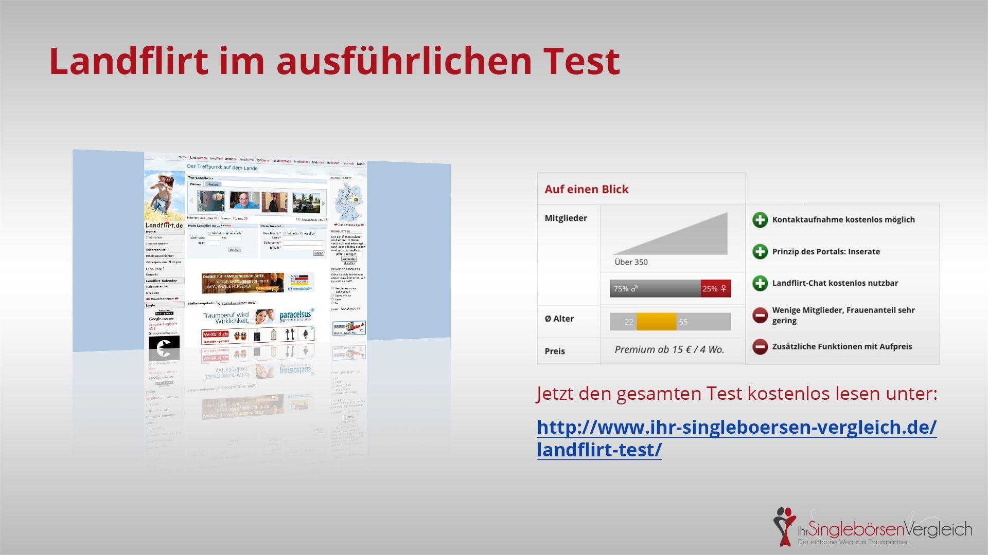 http://www.ihr-singleboersen-vergleich.de/landflirt-test/ Landflirt - der Treffpunkt auf dem Lande. Über Inserate Gleichgesinnte finden...