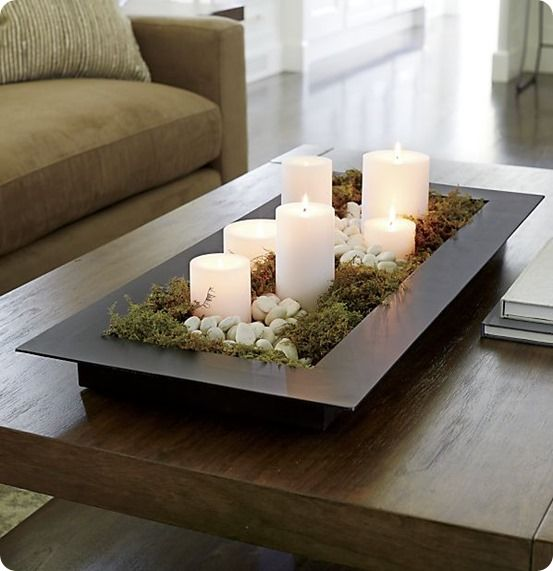 A Zen Inspiration In Indoor Outdoor Decoration. This Simple, Watertight  Tray Is The Foundation For A Reflecting Pool With Or Without Rocks,  Floating Candles ...
