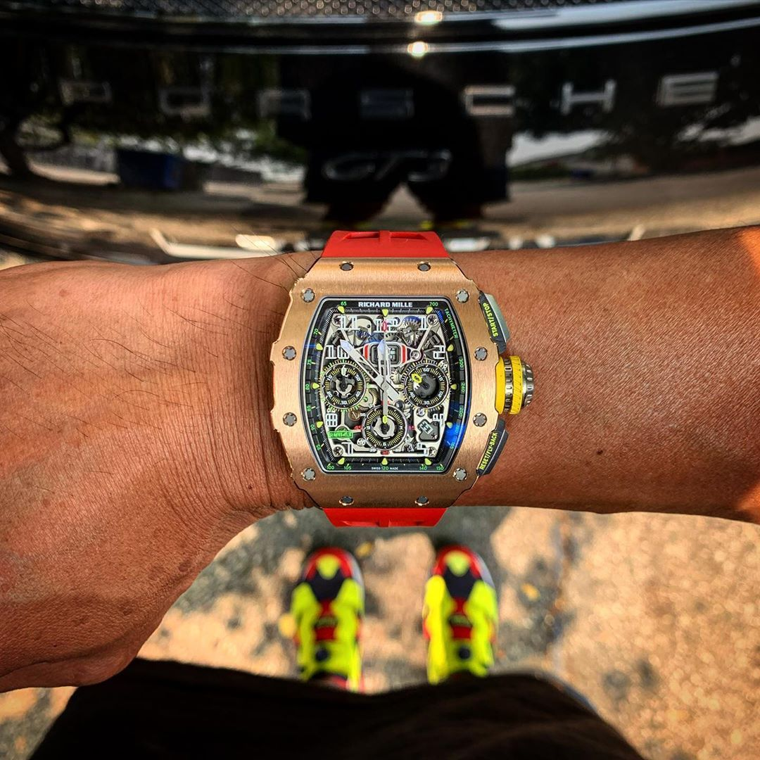 Iconic Richard Mille 1103  Cheers Epicureans  Thanks woonderlander for sharing