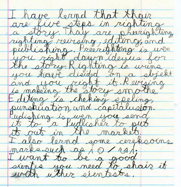 Dyslexia help writing essays
