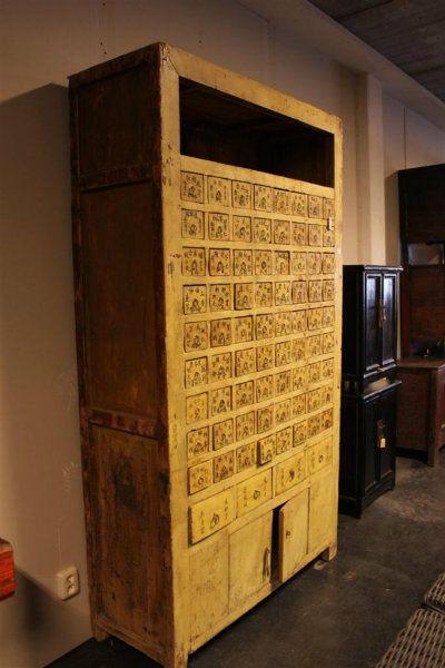 asian medicine cabinet