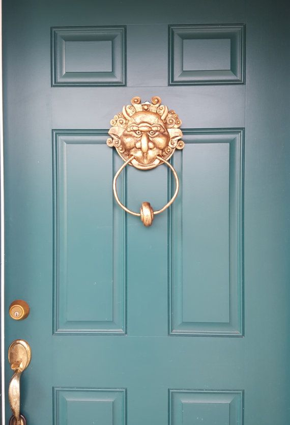 This Resin Cast And Hand Painted Door Knocker From The Movie The