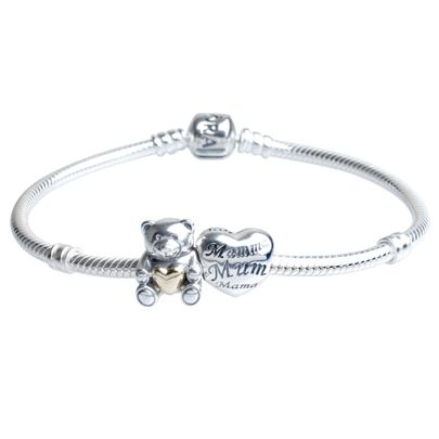 Pandora A Hug For Mum Complete Bracelet Cb303 New Born